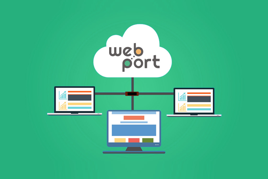 Web Port Cloud
